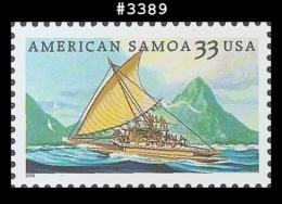 US 3389 St1 American Samoa - Blocs-feuillets