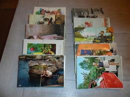 Grand Lot De 500 Cartes Postales S.- M. Grand Format De Fantaisie + Thèmes     Groot Lot 500 Kaarten Fantasie + Themas - Postcards