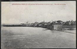 CPA 78 - Bonnières-sur-Seine, Pendant Les Inondations De Janvier 1910 - Vue Prise Sur Le Pont - Bonnieres Sur Seine