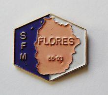 Pin's SFM Flores - 39R - Villes