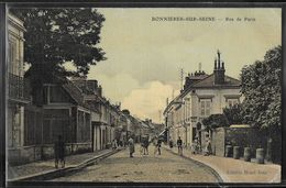 CPA 78 - Bonnières-sur-Seine, Rue De Paris - Bonnieres Sur Seine