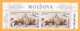 2014 Moldova Moldavie Moldau 200 Years Of Germans In Bessarabia. Germany. 2 V MNH - Moldova
