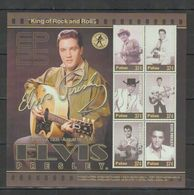 W64. MNH Palau Famous People Elvis Presley 1935-1977 - Elvis Presley
