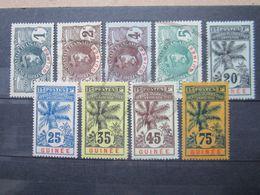VEND LOT DE TIMBRES DE GUINEE , NEUFS !!! - Guinée Française (1892-1944)