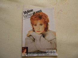 MYLENE FARMER VOIR PHOTO..ANCIEN MAGAZINE COMPLET AVEC POSTER...REGARDEZ MES VENTES ! J'EN AI D'AUTRES - Magazines: Abonnements