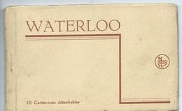 Waterloo Carnet De 10 Vues - Waterloo