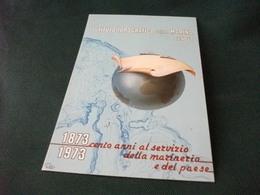 ISTITUTO IDROGRAFICO DELLA MARINA GENOVA  100 ANNI AL SERVIZIO DEL PAESE ILLUSTRATORE NAVI SHIP CHE SOLCANO IL MONDO - Dampfer