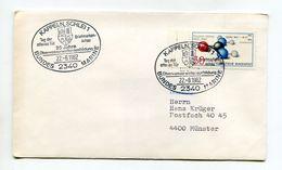 BRD UMSCHLAG 1982 SST 25 JAHRE UBERWASSERWAFFENAUSBILDUNG BUNDESMARINE KAPPELN/SCHLEI - [7] Federal Republic