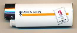 ALBERTVILLE 1992  XVI° Jeux Olympiques D'Hiver 8 - 23 Février Briquet Publicitaire (vide) MERLIN GERIN - Other