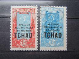VEND TIMBRES DU TCHAD N° 53A + 54 , NEUFS SANS CHARNIERE !!! - Tchad (1922-1936)