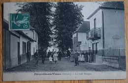 80 : Forceville-en-Vimeu - Le Café Morgan - Animée : Belle Animation - (n°10243) - Oisemont
