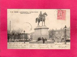 85 Vendée, La Roche-sur-Yon, La Place D'Armes, Statue Napoléon 1er, Animée, 1903, (Poupin) - La Roche Sur Yon