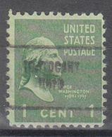 USA Precancel Vorausentwertung Preo, Locals Ohio, Tontogany 704 - Vereinigte Staaten