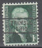 USA Precancel Vorausentwertung Preo, Locals Ohio, Trimble 743 - Vereinigte Staaten