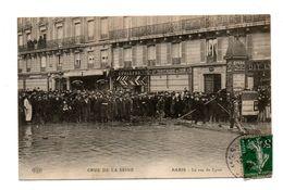 75 - PARIS . CRUE DE LA SEINE . LA RUE DE LYON - Réf. N°7856 - - Inondations De 1910