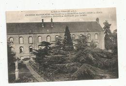 Cp, 49 , LA SALLE DE VIHIERS , Maison De Retraite Pour Dames ,vierge - France