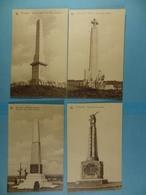 Lot De 12 Cartes Postales Monument 14-18 En Flandre - Guerre 1914-18