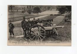 CPA Militaria Militaires Soldats Guerre De 1914-1915 Artillerie Française Notre Glorieux 75 La Terreur Des Boches - Guerra 1914-18