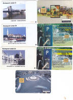 Budapest Parking Card Rare Extra - Andere Sammlungen