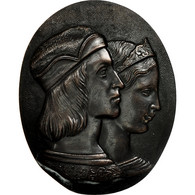 Italie, Médaille, Raffaello E Fornarina, Florence, SUP, Bronze - Italie