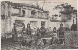 CARTE POSTALE   TONKIN.   Femmes Musiciennes - Vietnam