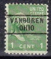 USA Precancel Vorausentwertung Preo, Locals Ohio, Van Buren 729 - Vereinigte Staaten