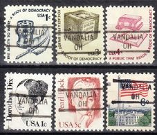 USA Precancel Vorausentwertung Preo, Locals Ohio, Vandalia 841, 6 Diff. - Vereinigte Staaten