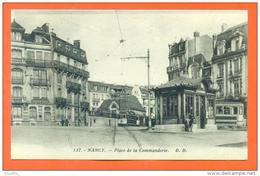 "CPA 54 Nancy "" Place De La Commanderie "" Edit Delboy - LJCP1 - Nancy"