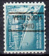 USA Precancel Vorausentwertung Preo, Locals Ohio, Venedocia 821 - Vereinigte Staaten