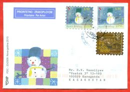 Croatia 2009. Happy New Year.  Envelope Past The Mail. - Kroatien
