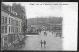 CPA BELGIQUE - Dinant, Vue Sur Le Pont Et La Place Saint-Médard - Dinant