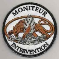 Patch MONITEUR INTERVENTION Gendarmerie - Police