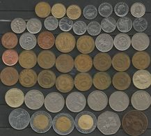 Vrac Pièces Divers Pays : Italie, Allemagne, Royaume-Uni, USA..... - Monete & Banconote