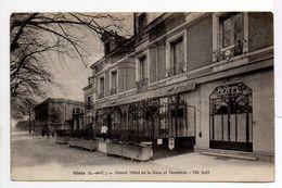 - CPA BLOIS (41) - Grand Hôtel De La Gare Et Terminus 1930 - Edition L. Lenormand - - Blois