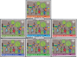Haiti 1348-1354 (kompl.Ausg.) Postfrisch 1979 Kinderjahr - Haiti