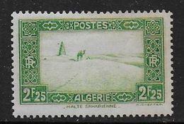 ALGERIE - N° 121 *  - Cote : 24,50 € - Ungebraucht