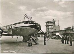 Nürnberg - Flughafen - Der Fliegende Holländer KLM Jakob Maris - Foto-AK Grossformat - Verlag Bischof & Broel Nürnberg - Nuernberg