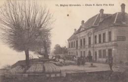 CPA - Bègles - Chais P. Salin Fils Ainé - France