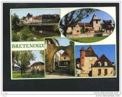46 BRETENOUX ... Carte Multi Vues ......1 - Bretenoux