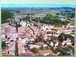33 ,cadillac Sur Garonne ,vue Générale  ..circulée Timbrée....cpsm....gf - Cadillac