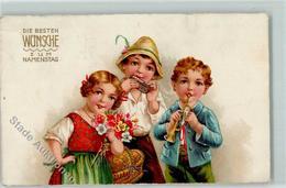 39165087 - Mundharmonika Troete Kinder AK - Non Classés