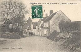 37 INDRE ET LOIRE - ORBIGNY Rue De Nouans, Le Clocher - Autres Communes