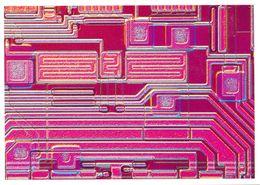 IBM 64 K Bit Speicerchip Hergestellt Im Werk Sindelfingen - Ecrite, Timbrée - 5208 - Malerei & Gemälde