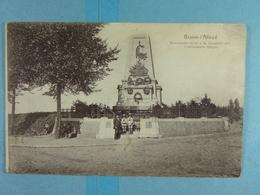 Braine L'Alleud Monument élevé à La Mémoire Des Combattants Belges - Braine-l'Alleud