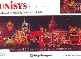 Télécarte Japon DISNEY Unisys / 110-154055 -  (6295) Electrical Parade Train - Japan Phonecard * TELEFONKARTE - Disney