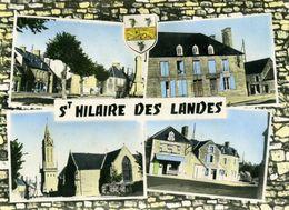 CPSM - SAINT-HILAIRE-DES-LANDES -  Multi-vues - Autres Communes