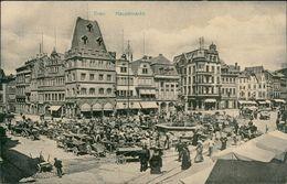 AK Trier, Hauptmarkt, Ca. 1910er Jahre (29387) - Trier
