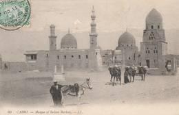 """Le Caire - Cachets """"HOTEL""""   Sur Cpa Et Sur Timbres Détachés  -3 Scan - Egypt"""