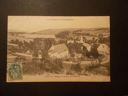 Carte Postale - AYDAT (63) - Le Village Et Le Lac (2129) - Autres Communes