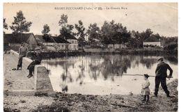 Aube - MAGNY-FOUCHARD - La Grande Mare - Pêcheur - 1928 - Frankreich